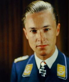 Major Heinrich prince of Sayn-Wittgenstein Luftwaffe night fighter ace He was credited with 95 heavy bombers, awarded Knights Cross/ Oakleaves/ Swords for outstanding service.