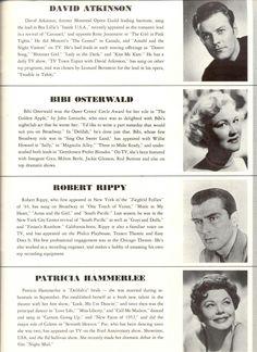 "Carol Channing ""Delilah"" (The Vamp) Pre-Broadway Souvenir Program Cast listing David Atkinson Bibi Osterwald 1955 h"