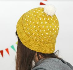 Ravelry: A Most Bespeckled Hat pattern by Alex Tinsley