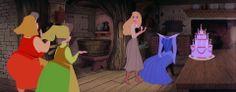 """""""Happy birthday!"""" Sleeping Beauty, Disney Screencaps.com"""