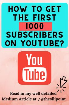 As per YouTube Policy, new Youtubers need at least 1000 subscribers and 4000 hours of Watch Time to Monetize their Channel.     Read my steps to reach the first 1000 subscribers in a legit way.