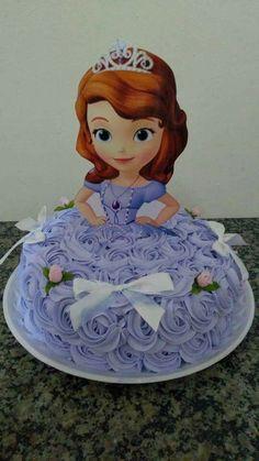 51 Trendy birthday girl cake princess sofia the first Birthday Party Snacks, First Birthday Cakes, Birthday Cake Girls, Princess Birthday, Birthday Crafts, Princess Sofia Cake, Princess Sofia The First, Princess Doll Cakes, Bolo Sofia