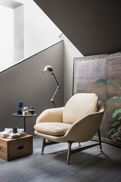 Armchair, two-seater and three-seater sofas. Shell in CFCfree polyurethane foam with elastic belts,covered in removable fabric or leather. Base in polished aluminium or painted aluminium in mat black or satinized bronze colour. Discover more on: http://cassina.com/en/collection/sofas-and-armchairs/399-vico