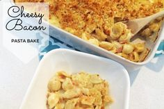 Cheesy Bacon Pasta Bake Recipe