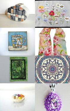 More Beautiful Handmade Treasures by Suzanne Perry on Etsy--Pinned with TreasuryPin.com