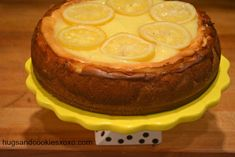 Lemon Bar Cheesecake - Hugs and Cookies XOXO