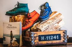 Hiking Boots, The Outsiders, Creative