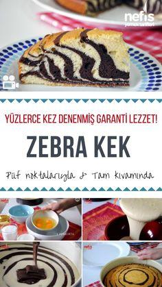 Denenmiş ve Garanti Tarif: Zebra Kek Tarifi #zebrakek #kek #kektarifleri #cake #cakerecipes #recipes #recipeoftheday