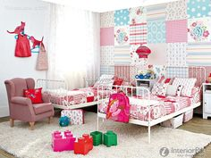 Mix-style children's room effect chart greatly entire 2016