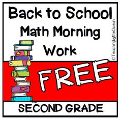 2nd grade math Bell Work Math Teacher, Math Classroom, 2nd Grade Math, Second Grade, Homeschool Math, Curriculum, Homeschooling, Math Early Finishers, Math Rotations