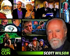 *PIN to WIN* Meet Scott Wilson at #SLCC15! Best known for playing Hershel Greene on The Walking Dead!   / #SLCC15 Tickets on Sale Now: http://saltlakecomiccon.com/slcc-2015-tickets/?cc=Pinterest