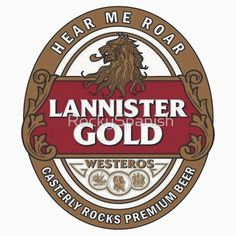 LANNISTER HOUSE - Game Of Thrones
