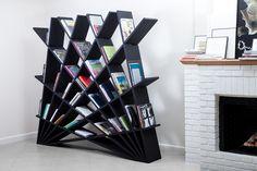 Maryam Pousti Designs An Interlocking Bookshelf