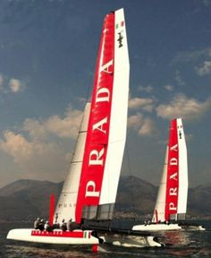 Luna Rossa two AC45 Naples