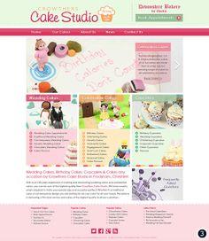 Crowthers Cake Shop Option 2   My Design Work   Pinterest ...