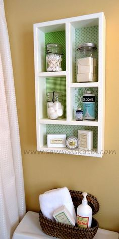 Diy Cottage Wall Shadow Box Shelving