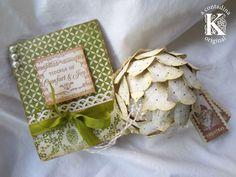 Card and Keepsake Ornament **Handmade Holidays Blog Hop** - Scrapbook.com