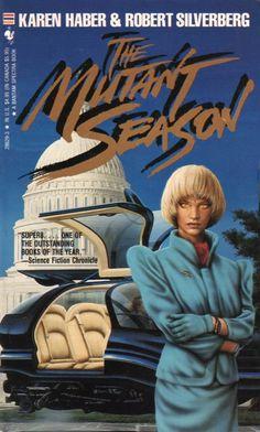 JIM BURNS - The Mutant Season by Karen Haber & Robert Silverberg - 1990 Bantam Spectra