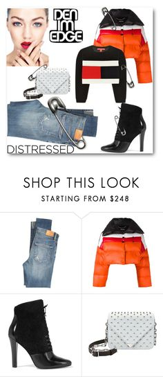 """""""Denim Edge"""" by looking-for-a-place-to-happen on Polyvore featuring Citizens of Humanity, Diesel, 3.1 Phillip Lim, Alexander Wang, Punk, wildchild, distresseddenim, denimdiva and gigigaga"""