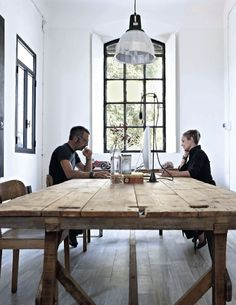 What a table! my scandinavian home: Beautiful Italian designer's studio