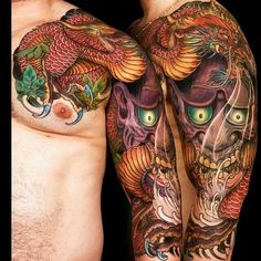 Asian dragon mask Jess Yen work