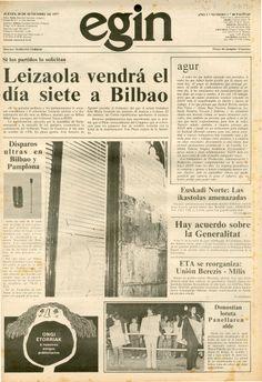 29 de septiembre de 1977 y 40 páginas. Precio 12 pesetas.