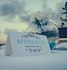 My Wedding Table name: Ideas: Romantic films?/ Brides' team/groom's team
