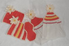 Crochet Kitchen Towels  and Dish Cloths