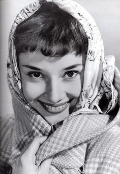 Audrey Hepburn - England, circa 1950.  scan by rareaudreyhepburn from the book The Audrey Hepburn Treasures.