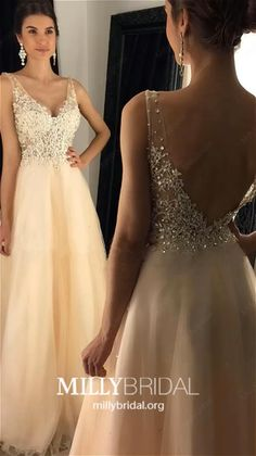 Champagne Prom Dresses Long Prom Dresses Modest, A-line Prom Dresses V-neck : Long Prom Dresses Champagne, Modest Formal Dresses for Teens, A-line Pageant Dresses V-neck, Sexy Graduation Dresses Open Back Ivory Prom Dresses, Modest Formal Dresses, Grad Dresses Short, Formal Dresses For Teens, Backless Prom Dresses, A Line Prom Dresses, Prom Dresses Online, Pageant Dresses, Sexy Dresses