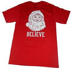Custom Kingdom Mens' Christmas Santa Clause Believe T-shirt Red (XL) Custom Kingdom http://www.amazon.com/dp/B00QHDAM3E/ref=cm_sw_r_pi_dp_7T1Pub1TB8R3Y