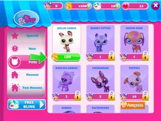 How to get more free Kibble and free pets in Littlest Pet Shop Game