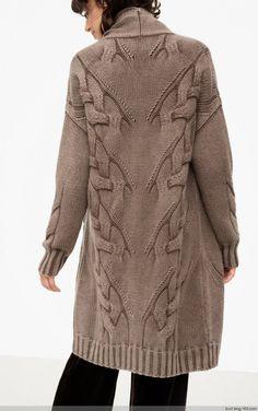 麻花套衫 - 编织幸福 - 编织幸福的博客