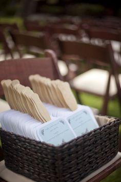 Country and Rustic - Wedding Fan Program Wedding Program Fans, Wedding Fans, Our Wedding, Destination Wedding, Dream Wedding, Fan Programs, Wedding Stuff, Gatsby Wedding, Chic Wedding