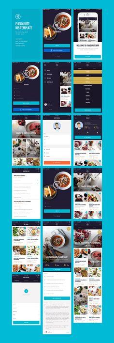 Flavourite iOS Template by Great Simple on Creative Market