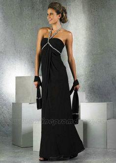 black chiffon dress sweetheart - Google Search