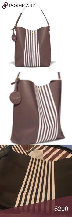 Henri Bendel Limited Edition Hobo Henri Bendel Limited Edition Signature Striped Hobo Bag.  Snaps shut. No pockets inside. Great stylish carry all bag. henri bendel Bags Shoulder Bags