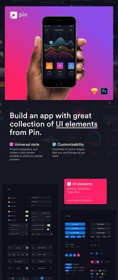 Huge set of mobile UI Elements designed in Sketch & Photoshop Web Design, Homepage Design, Sketch Photoshop, Build An App, Mobile Ui Design, Ui Design Inspiration, Ui Elements, User Interface Design, Ui Kit