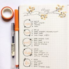 Are you in search of Super Pretty Bullet Journal Weekly layouts? This post had great bullet journal inspiration so you can create your own gorgeous bullet journal layout. The bullet journal pages are fabulous Planner Bullet Journal, Bullet Journal Weekly Layout, Bullet Journal Spread, Bullet Journal Inspiration, Beginner Bullet Journal, Autumn Bullet Journal, Bullet Journal Writing, Organization Bullet Journal, College Organization