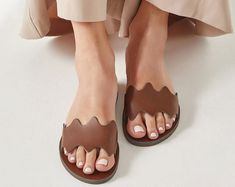 Toe Ring Sandals, Boho Sandals, Greek Sandals, Open Toe Sandals, Toe Rings, Leather Upper, Cow Leather, Artemis, Criss Cross