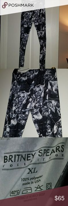 Britney Spears leggings From her Piece of Me store at Planet Hollywood Las Vegas. britney spears Pants Leggings