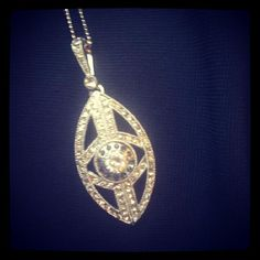 Evil eye pendant by V Jewellery
