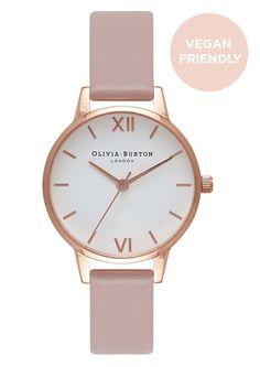 Olivia Burton Vegan Friendly Midi Dial Watch In Rose Gold