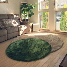 円形ラグ/ずっと欲しかったもの/Francfranc/春よ来い♡/いつもいいねありがとうございます♡…などのインテリア実例 - 2016-01-22 10:36:02 | RoomClip(ルームクリップ) Small Living, Living Spaces, Living Room, Fur Carpet, Shower Cleaner, Shag Rug, Nitori, Carpets, Interior