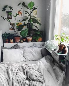 Home Bohemian Bedroom Decor from Around the World urban outfitters bedroom + indoor plant + succulent ideas for the bedroom Dream Rooms, Dream Bedroom, Home Bedroom, Bedroom Beach, Master Bedroom, Beach Dorm, Beach Inspired Bedroom, Bedroom 2018, Bedroom Nook