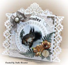 Winter Cards, Big Shot, Crochet Baby, Besties, Baby Dolls, Christmas Cards, Create, Birthday, Om