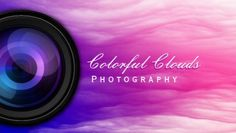 Elegant Colorful Pink and Purple Clouds Photography Business Cards http://www.zazzle.com/elegant_colorful_clouds_photography_business_card-240778067523440844?rf=238835258815790439&tc=GBCPhotographer1Pin