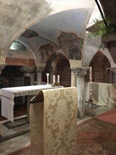 #crypt of Saint Marks Basilica #piazza San Marco Venice
