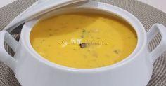 Uma sopa bem quentinha sempre ajuda a aquecer nosso corpo quando o frio aumenta, dando uma sensação de conforto sem igual. Enriquec...