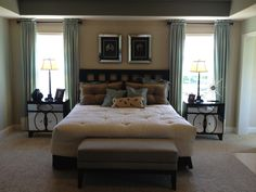 Bedroom with Glam